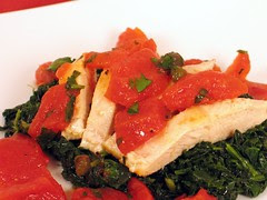 chicken with tomato relish 1a
