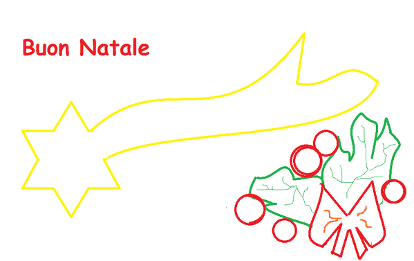 Stella Cometa Sagoma Da Ritagliare Lavoretti Creativi