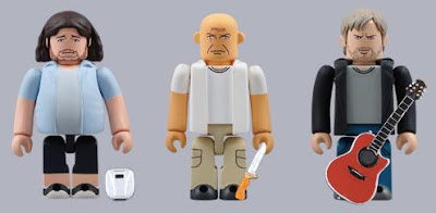 Kubrick Lost Figures Hurley, Locke and Charlie
