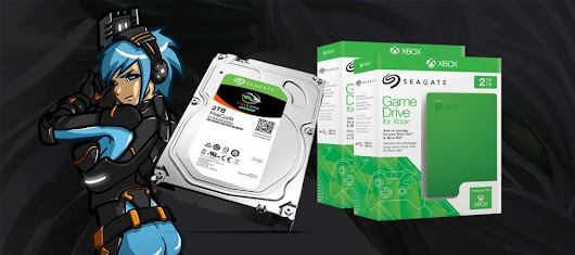 [GIVEAWAY] : Seagate Firecuda 2TB + Game Drive for Xbox 2TB | GameStart Asia
