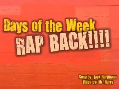 days   week rap schooltube safe video sharing