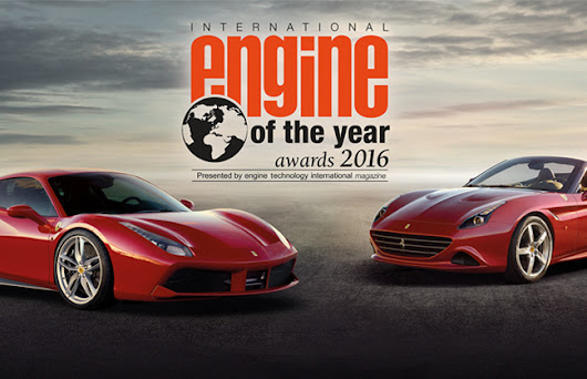 Ferrari Receives 2016 International Engine of the Year Award  | CarBay