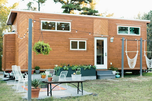 Tiny Homes — dreamhousetogo:   The Golden by American Tiny...