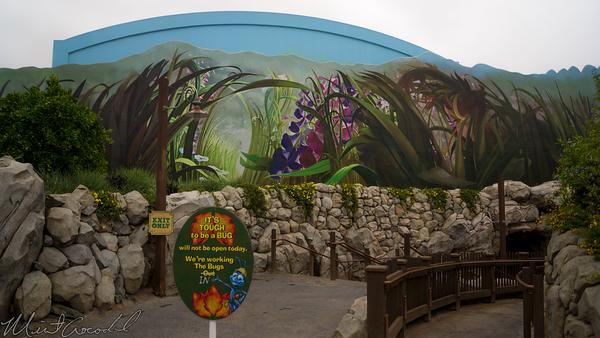 Disneyland Resort, Disneyland60, Disney California Adventure, A Bugs Land, Tough, Be, Bug, Refurbishment, Refurbish, Refurb, Ant, Man, Antman