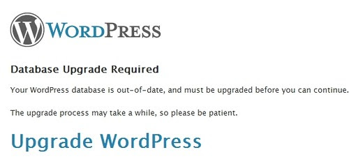 WordPress 2.5 Upgrade