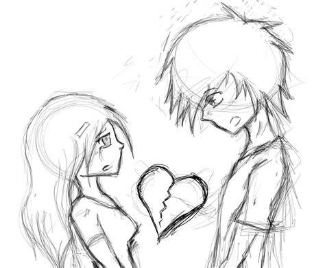 heart broken  world ends    deviantart