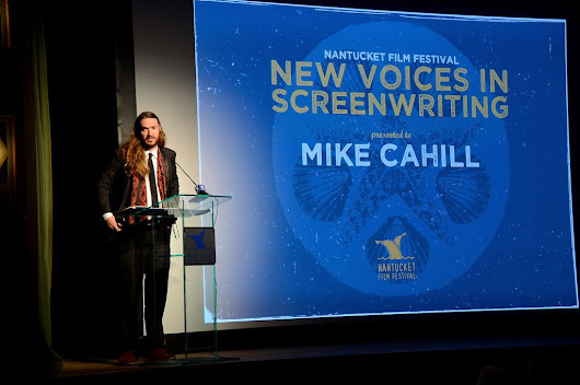I ORIGINS director Mike Cahill honored at the Nantucket Film Festival