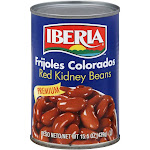 Iberia Frijoles Colrados Premium Red Kidney Beans 15.5oz
