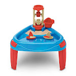 American Plastic Toys Sand & Water Wheel Play Table