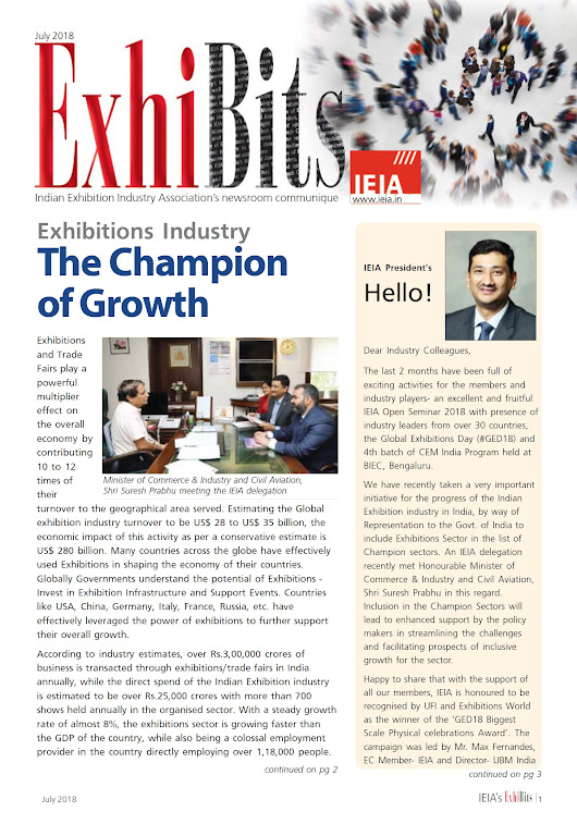 IEIA e-Newsletter July Edition 2018