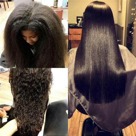 Tutorial: How to Straighten and Trim Natural Hair   Amillionstyles.com