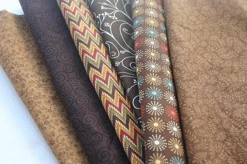 Yummy Brown Fabrics
