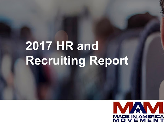Download the 2017 HR and Recruiting Report summary for free