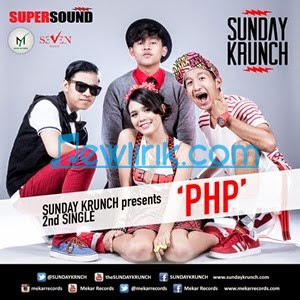 Lirik Sunday Krunch -  PHP