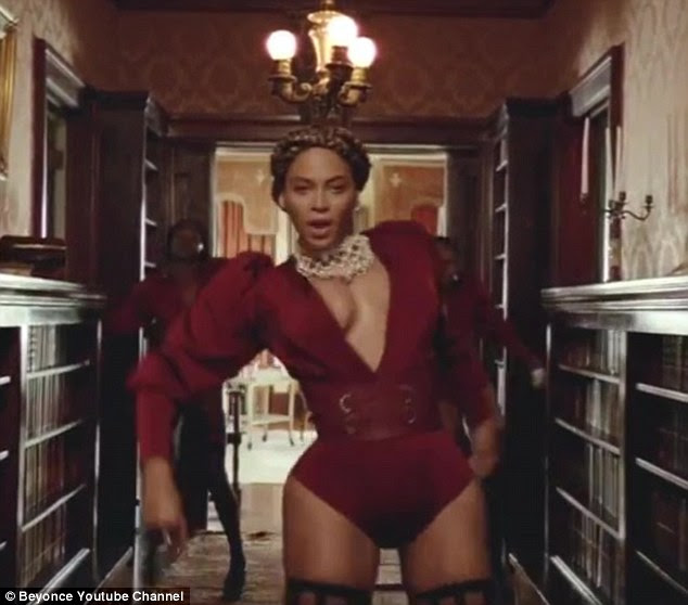 Breaking out: Beyonce surprised fans once again as she dropped a surprise single and accompanying music video for Formation on Saturday
