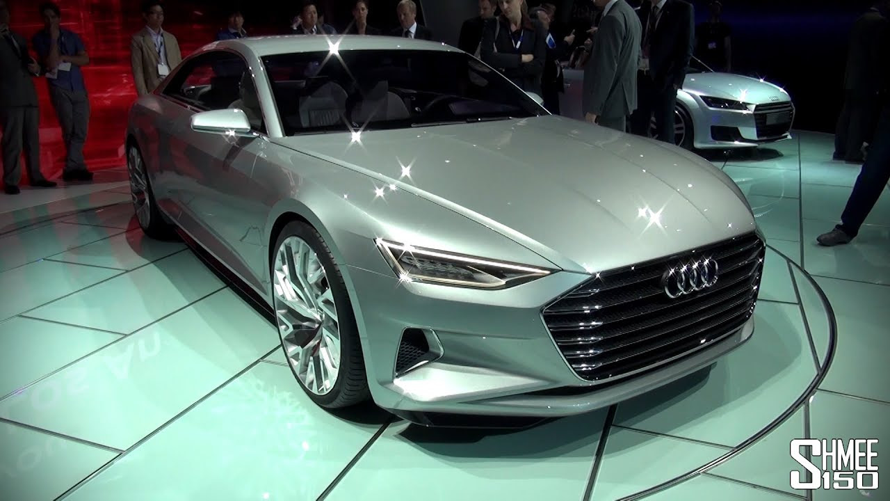 FIRST LOOK: Audi Prologue A9 Concept - LA Auto Show 2014 - YouTube
