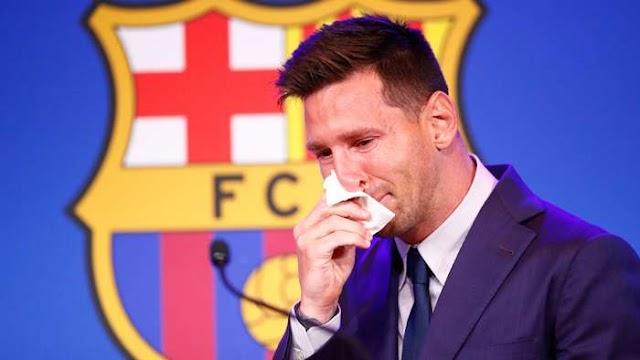 Saleh To Messi: You Are Greedy, Shedding Crocodile Tears
