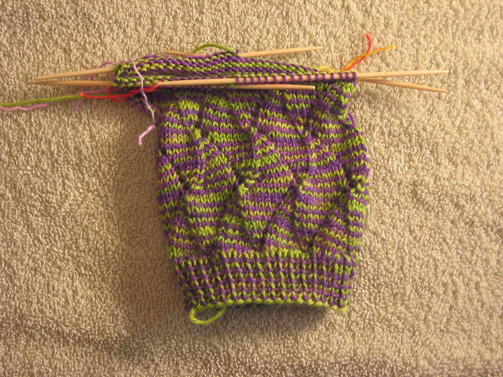 Jungle Stripe sock
