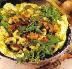 insalate,insalata,insalata di pasta,verdure,pasta,pesto,ricette,cucina,maccheroni
