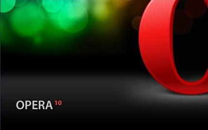 Opera 10 setup
