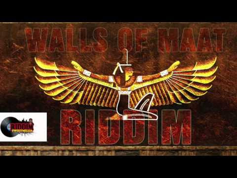 RED GOLD AND GREEN-JAH FRANCO- WALLS OF MAAT RIDDIM by twixymillia