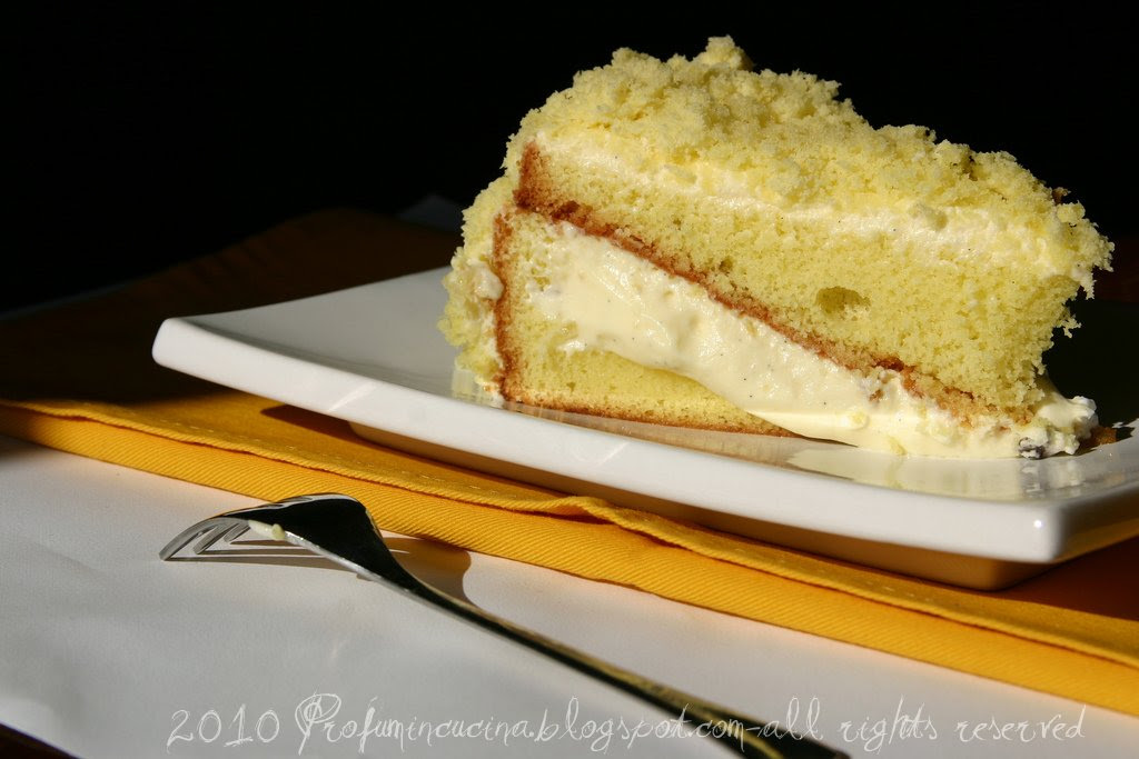 fetta torta mimosa