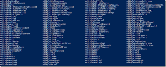 Beginning with PowerShell and Word