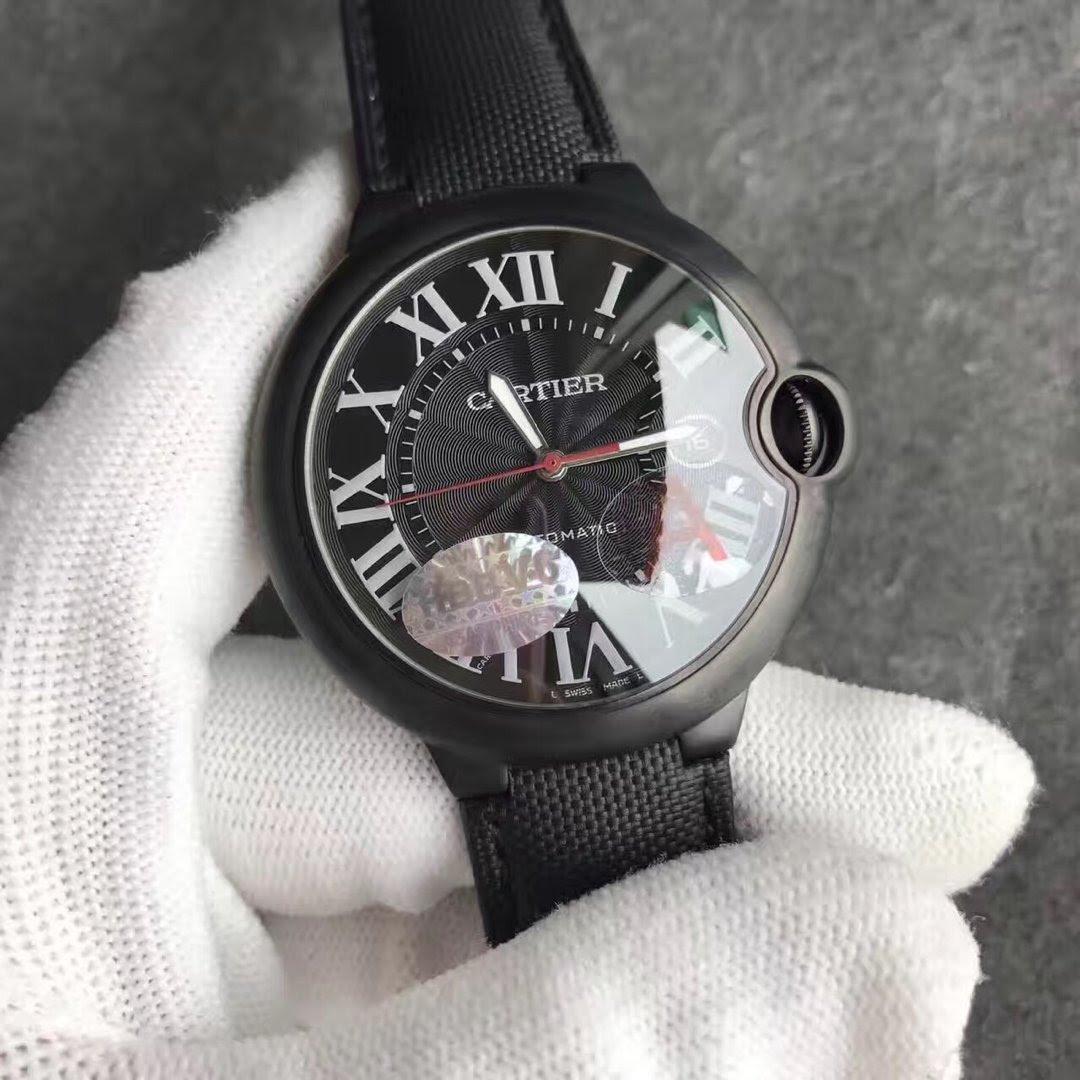 Cartier Ballon Bleu Black Watch