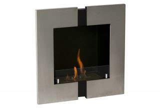 Ignis Wall Mounted Bio Ethanol Fireplace Magnum Ventless Eco