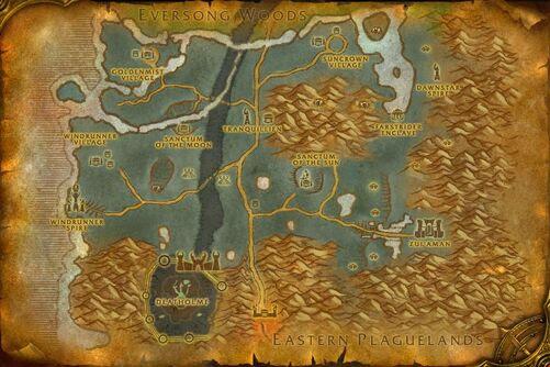 world of warcraft map eastern kingdoms. Eastern Kingdoms gt; Explore