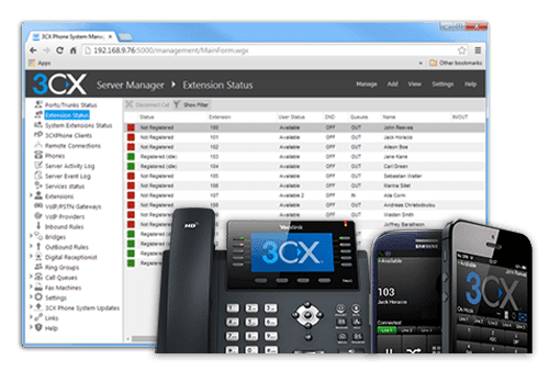 Implementasi 3CX Phone System Pada Virtual Machine
