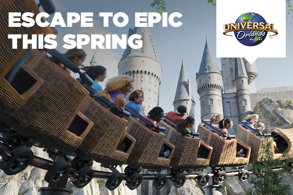 ESCAPE TO EPIC THIS SPRING