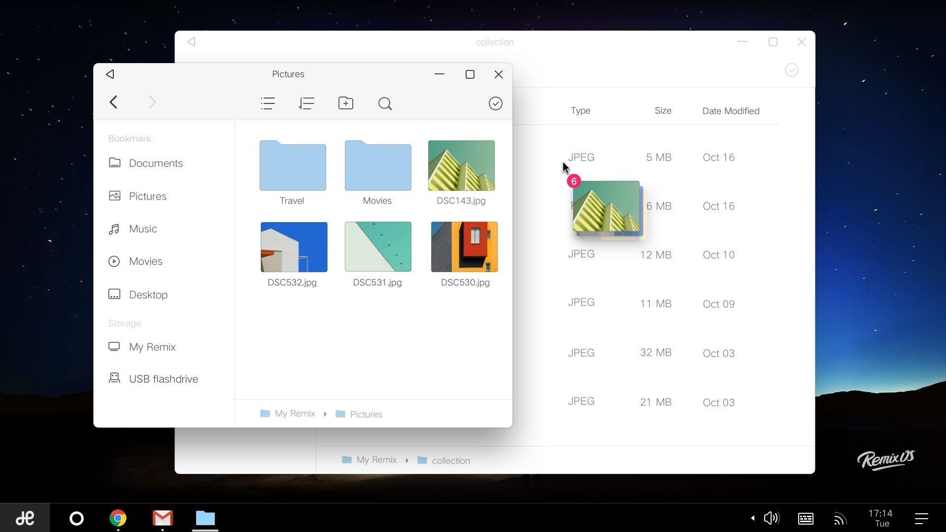 Remix OS File Manager