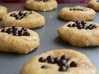 Cookies avant cuisson
