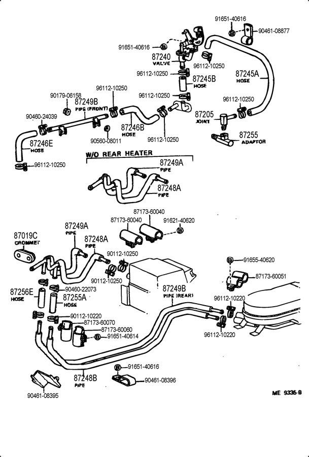 Engine compartment heater hose diagram | IH8MUD Forum