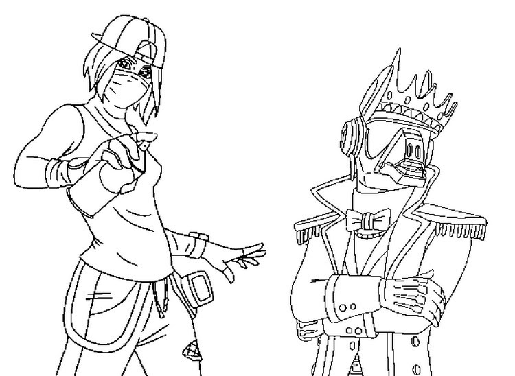 Fortnite Coloring Pages Season 10