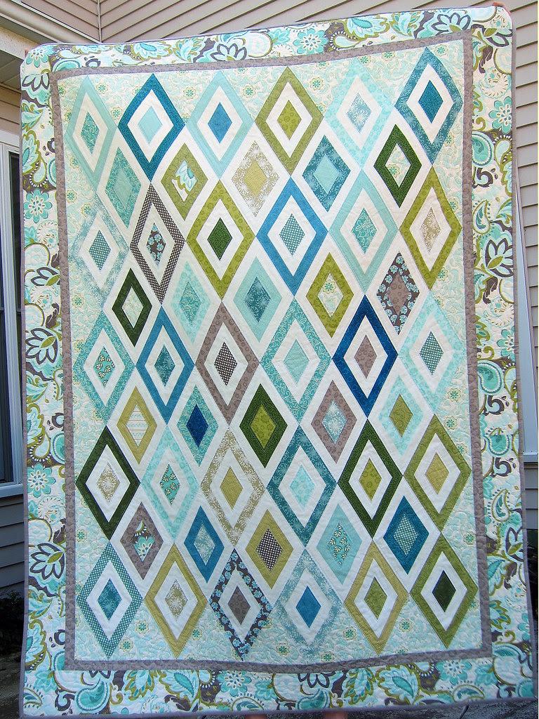 Lynn's Diamond Quilt