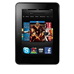 "Kindle Fire HD 7"", Dolby Audio, Dual-Band Wi-Fi, 16 GB - Includes Special Offers"