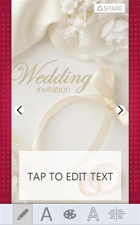 Wedding Invitations Card Maker for Android   Free download