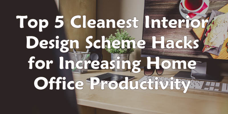 Top 5 Cleanest Interior Design Scheme Hacks for Increasing Home Office Productivity - Small Space Hacks: 24 Tricks For Living In Tiny Apartments Urbanist
