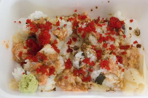 spicy tuna crunchy habenero roll