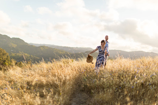 Dan & Betsy Engagement Session at Terra Linda Sleepy Hollow Divide, Marin County
