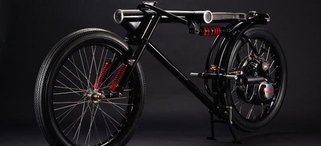 Beautiful Custom Motorbike Is Actually a 360º Security Camera