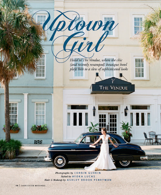 Mariell Featured in Charleston Weddings Magazine!