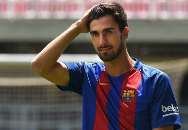 Image result for andre gomes barcelona photo