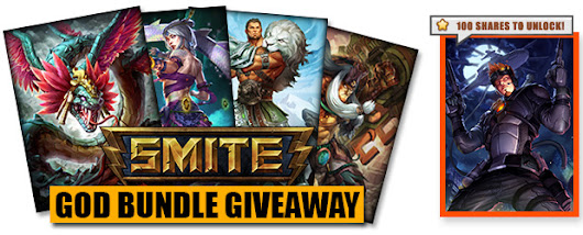 SMITE God Bundle Giveaway (Worth $240)