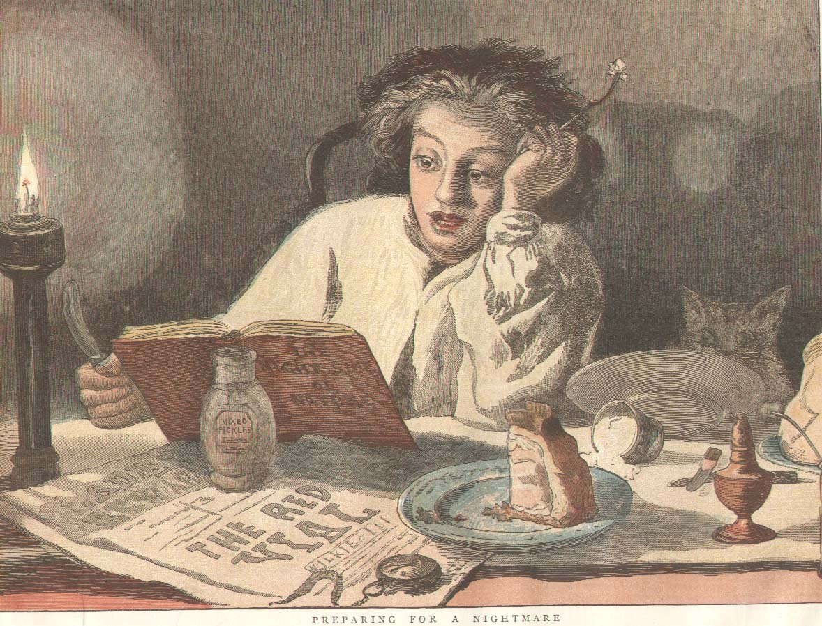 a Victorian supper