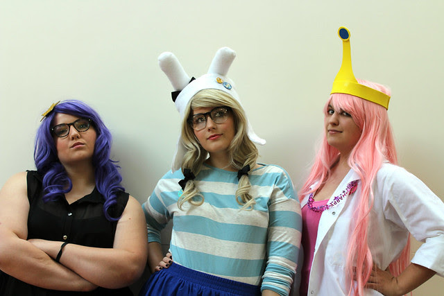 A-Fest 2013 - Hipster Adventure Time Girls