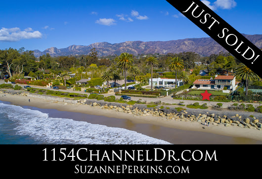 JUST SOLD! A Montecito Channel Drive Oceanfront Home | Suzanne Perkins