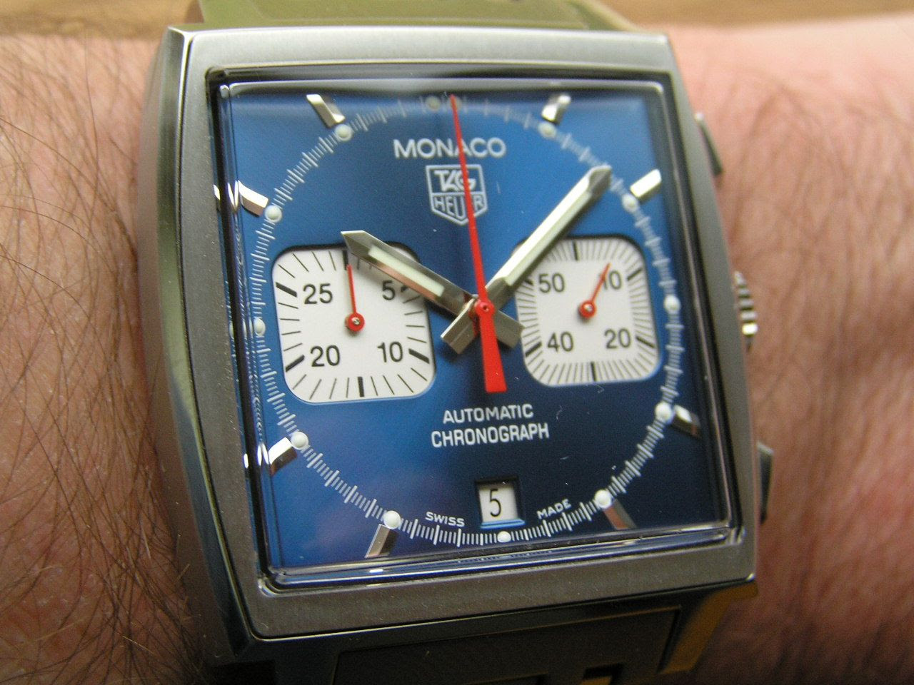 Watch Reviews By Mcv Review Of Tag Heuer Monaco